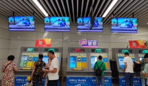 'ROBOCAR POLI' x YOUKU, Promotions across subways, airports and buses throughout China