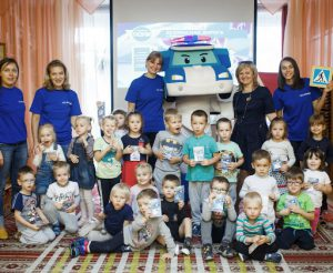 Russian Children's NO.1 Super Hero ROBOCAR POLI