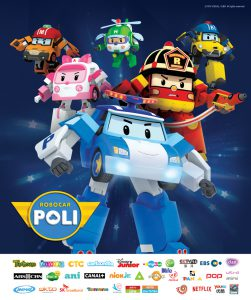 'ROBOCAR POLI' confirmed to be aired in Portugal, Spain and Japan!