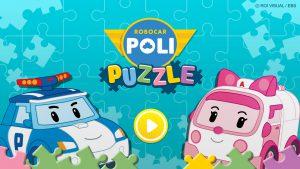 로이비쥬얼, '로보카폴리 퍼즐놀이' 게임앱 출시