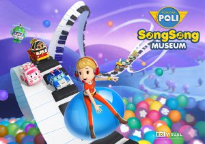 """Robocar POLI SongSong Museum"" which was a big hit in Korea will now be broadcast to international viewers in the autumn"