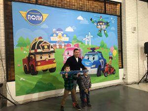 New ROBOCAR POLI Premiered in Russia and Netherlands