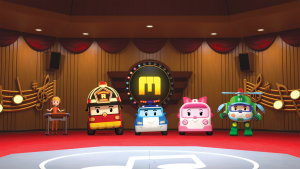 ROI VISUAL targets the global market for nursery rhymes with the new production of 'Robocar POLI SongSong Museum'